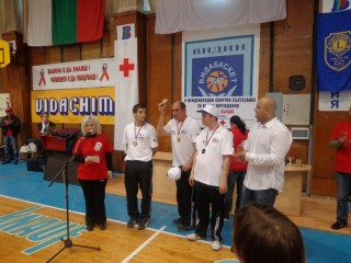 Международно състезание за хора с увреждания от България и Сърбия се проведе в спортна зала `Фестивална` във Видин